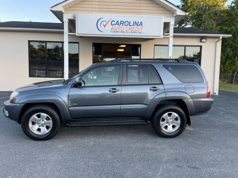2005 Toyota 4Runner for sale at Carolina Auto Credit in Youngsville NC