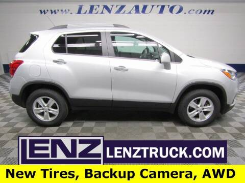 2019 Chevrolet Trax for sale at LENZ TRUCK CENTER in Fond Du Lac WI