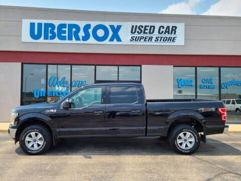 2019 Ford F-150 for sale at Ubersox Used Car Superstore in Monroe WI