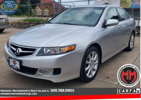 2007 Acura TSX for sale at MIDWEST MOTORSPORTS in Rock Island IL
