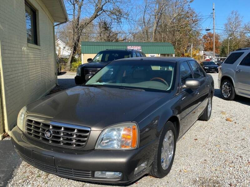 2002 Cadillac DeVille for sale at Claborn Motors, LLC. in Cambridge City IN