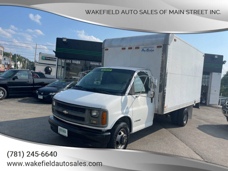 2001 Chevrolet Express Cutaway for sale at Wakefield Auto Sales of Main Street Inc. in Wakefield MA
