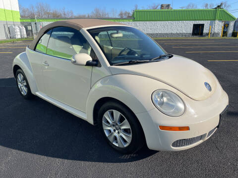 2009 Volkswagen New Beetle Convertible for sale at South Shore Auto Mall in Whitman MA