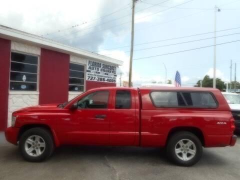 2010 Dodge Dakota for sale at Florida Suncoast Auto Brokers in Palm Harbor FL