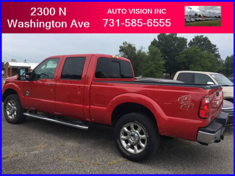 2012 Ford F-250 Super Duty for sale at Auto Vision Inc. in Brownsville TN