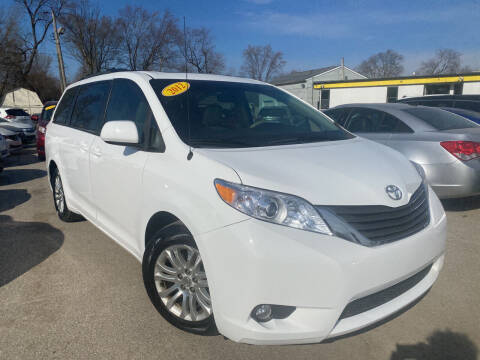 2012 Toyota Sienna for sale at Unique Auto Group in Indianapolis IN