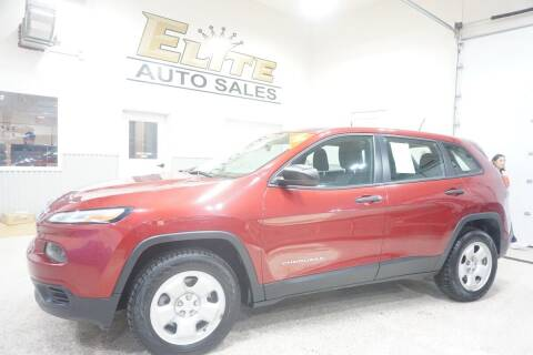 2014 Jeep Cherokee for sale at Elite Auto Sales in Ammon ID
