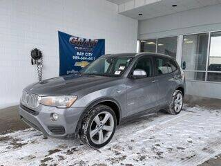 2017 BMW X3 for sale at GRAFF CHEVROLET BAY CITY in Bay City MI