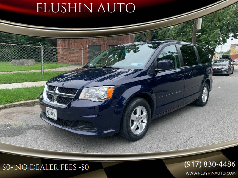 2012 Dodge Grand Caravan for sale at FLUSHIN AUTO in Flushing NY