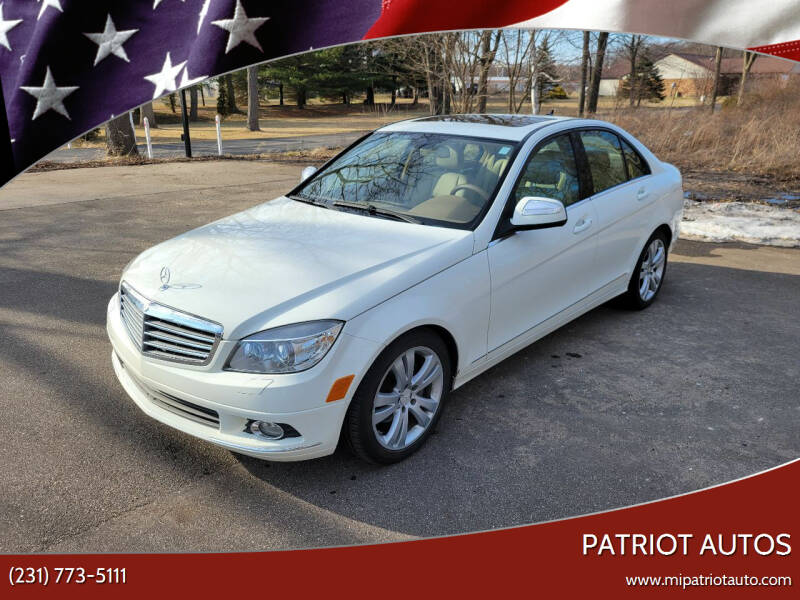 2008 Mercedes-Benz C-Class for sale at Patriot Autos in Muskegon MI