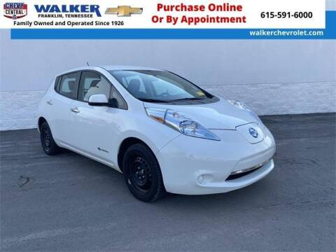 2015 Nissan LEAF for sale at WALKER CHEVROLET in Franklin TN