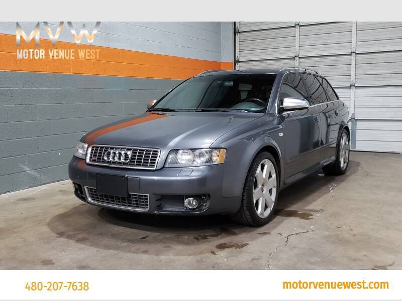 2004 Audi S4 for sale at Motor Venue West in Gilbert AZ