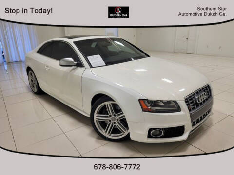 2012 Audi S5 for sale at Southern Star Automotive, Inc. in Duluth GA
