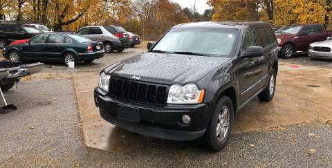 2007 Jeep Grand Cherokee for sale at Barga Motors in Tewksbury MA