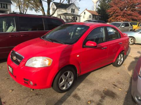 2008 Chevrolet Aveo for sale at QUALITY MOTORS in Benton WI