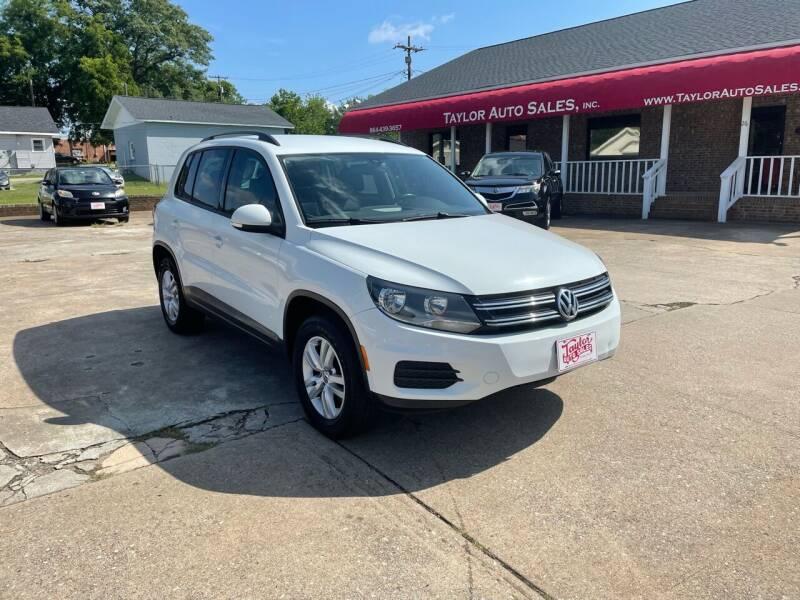 2016 Volkswagen Tiguan for sale at Taylor Auto Sales Inc in Lyman SC