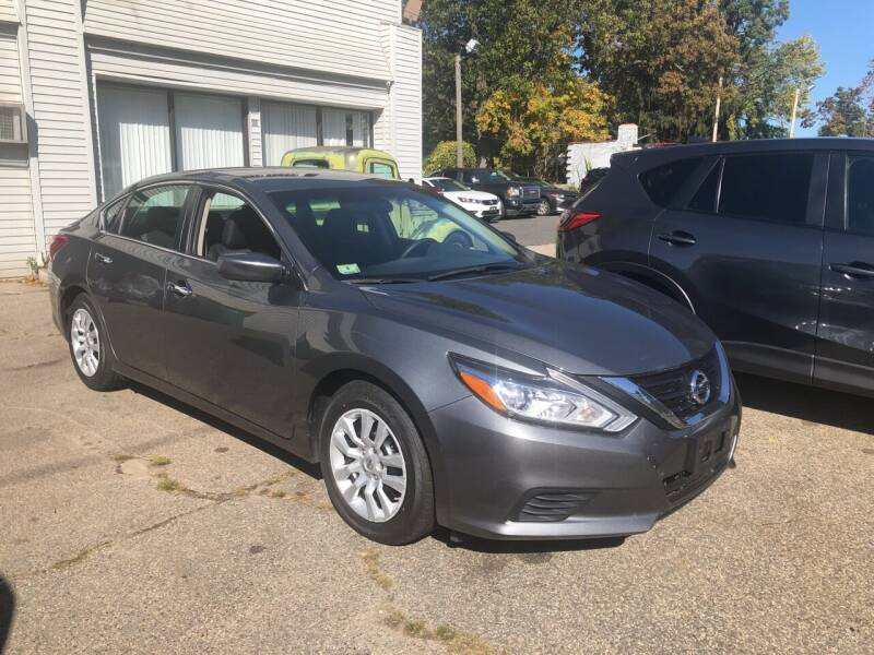 2017 Nissan Altima for sale at Chris Auto Sales in Springfield MA