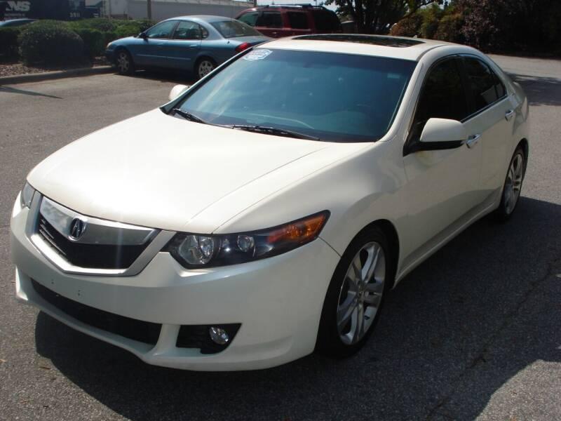 2010 Acura TSX for sale at Uniworld Auto Sales LLC. in Greensboro NC