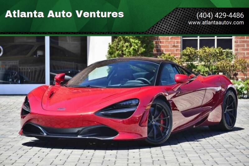 2019 McLaren 720S for sale at Atlanta Auto Ventures in Roswell GA