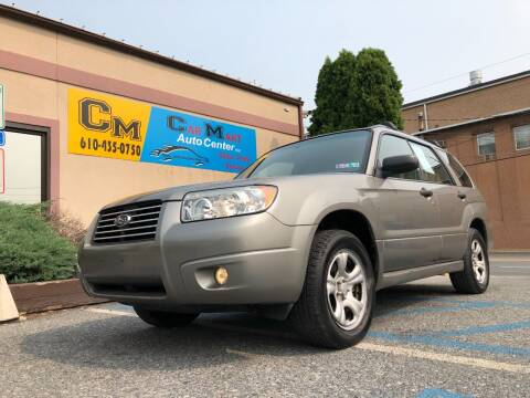 2006 Subaru Forester for sale at Car Mart Auto Center II, LLC in Allentown PA