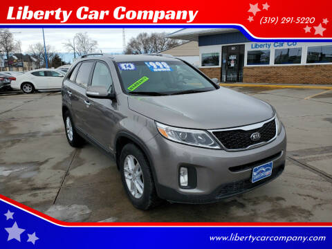 2014 Kia Sorento for sale at Liberty Car Company in Waterloo IA