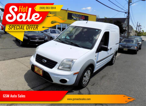 2013 Ford Transit Connect for sale at GSM Auto Sales in Linden NJ