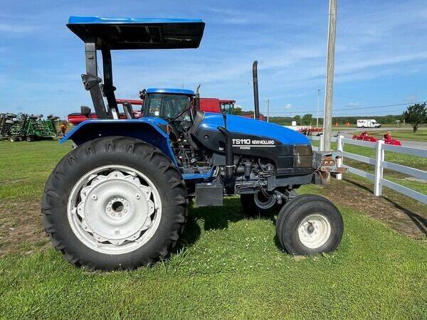 1999 New Holland TS110 for sale at Vehicle Network - B & S Enterprises in Elizabeth City NC