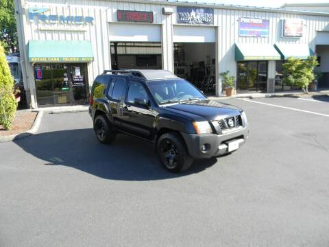 2005 Nissan Xterra for sale at PREMIER MOTORSPORTS in Vancouver WA