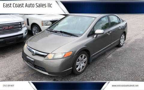 2006 Honda Civic for sale at East Coast Auto Sales llc in Virginia Beach VA