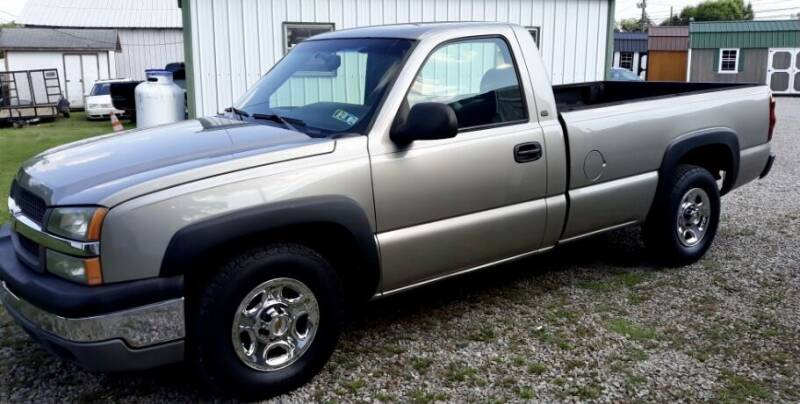 2003 Chevrolet Silverado 1500 for sale at Summit Motors LLC in Morgantown WV