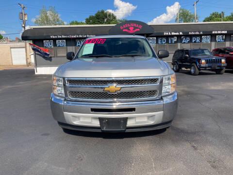 2013 Chevrolet Silverado 1500 for sale at Savannah Motors in Belleville IL