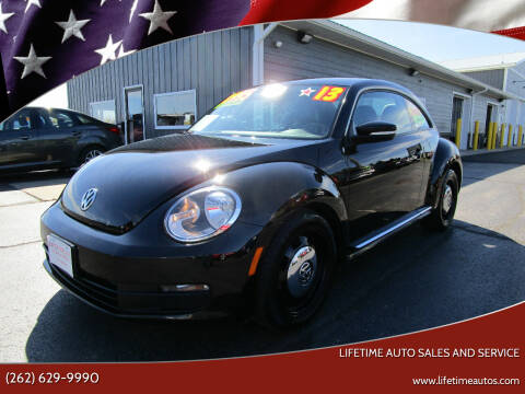 2013 Volkswagen Beetle for sale at Lifetime Auto Sales and Service in West Bend WI