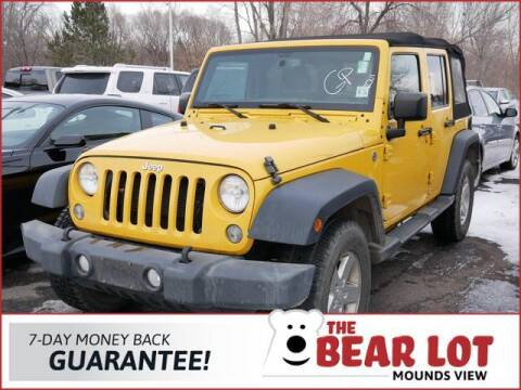 2015 Jeep Wrangler Unlimited for sale at Rydell Auto Outlet in Mounds View MN