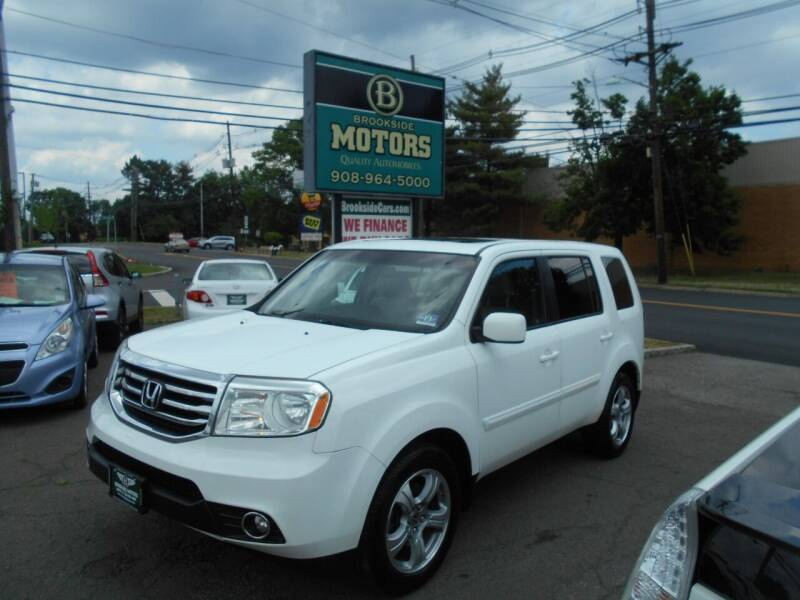 2012 Honda Pilot for sale at Brookside Motors in Union NJ