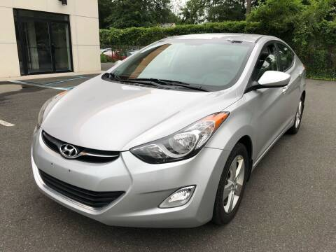 2013 Hyundai Elantra for sale at MAGIC AUTO SALES in Little Ferry NJ