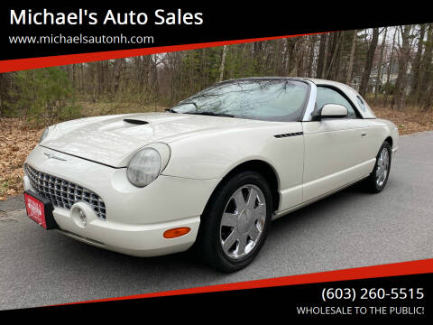 2002 Ford Thunderbird for sale at Michael's Auto Sales in Derry NH