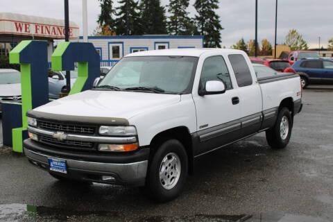 2001 Chevrolet Silverado 1500 for sale at BAYSIDE AUTO SALES in Everett WA