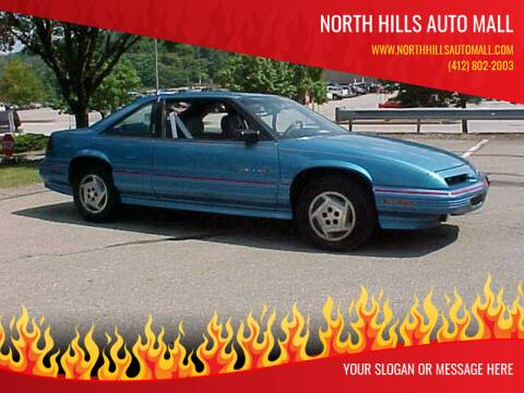 1991 Pontiac Grand Prix for sale at North Hills Auto Mall in Pittsburgh PA