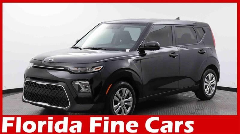 2020 Kia Soul for sale at Florida Fine Cars - West Palm Beach in West Palm Beach FL