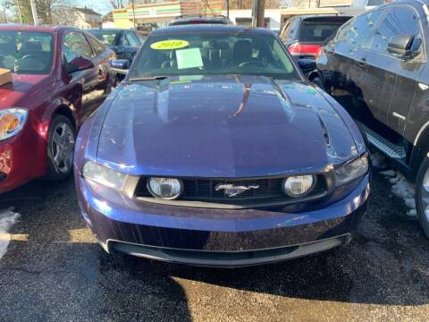 2010 Ford Mustang for sale at Park Avenue Auto Lot Inc in Linden NJ