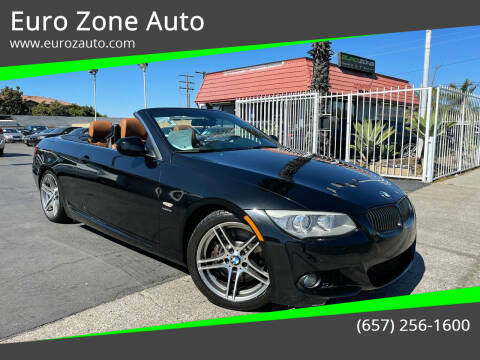 2011 BMW 3 Series for sale at Euro Zone Auto in Stanton CA