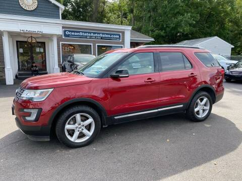 2017 Ford Explorer for sale at Ocean State Auto Sales in Johnston RI