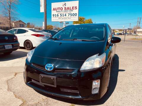 2010 Toyota Prius for sale at A1 Auto Sales in Sacramento CA