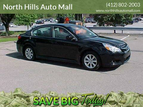 2011 Subaru Legacy for sale at North Hills Auto Mall in Pittsburgh PA