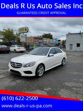 2014 Mercedes-Benz E-Class for sale at Deals R Us Auto Sales Inc in Lansdowne PA