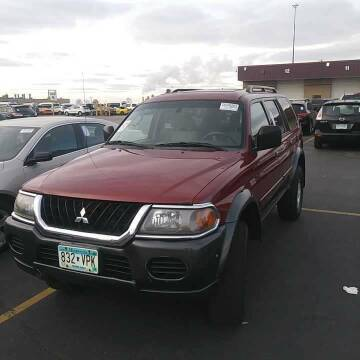 2003 Mitsubishi Montero Sport for sale at WB Auto Sales LLC in Barnum MN