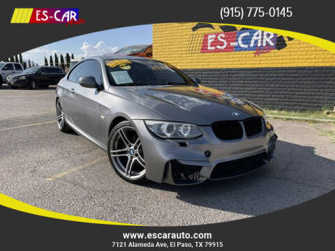 2013 BMW 3 Series for sale at Escar Auto - 9809 Montana Ave Lot in El Paso TX