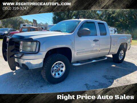 2009 GMC Sierra 1500 for sale at Right Price Auto Sales in Waldo FL