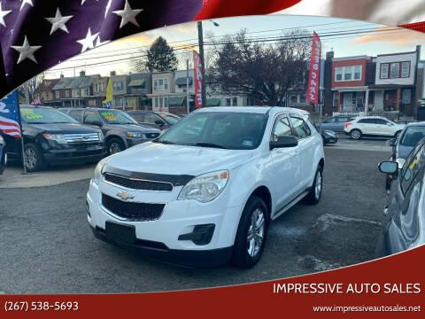 2012 Chevrolet Equinox for sale at Impressive Auto Sales in Philadelphia PA