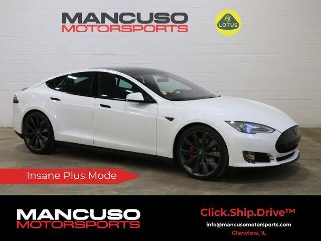2014 Tesla Model S for sale at Mancuso Motorsports in Glenview IL